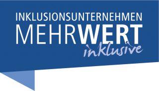 "Logo der bag if-Kampagne ""Inklusionsunternehmen. MehrWert inklusive""."