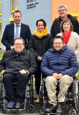 Teilnehmer der Infowochen 2019 bei unserem Mitglied BÜS Trier