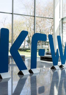KfW-Schriftzug