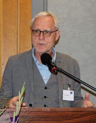 Ulrich Adlhoch am Rednerpult