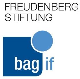 Logo der Freudenberg Stiftung der bag if